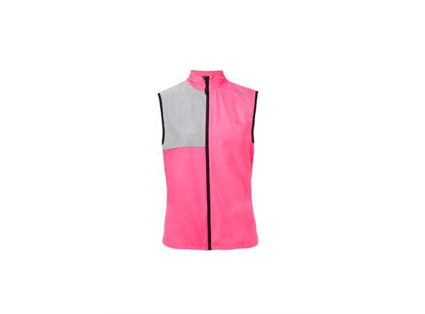56148c44 Silva Perform Vest W M Refleksvest for trening - Rosa - Foss Sport AS