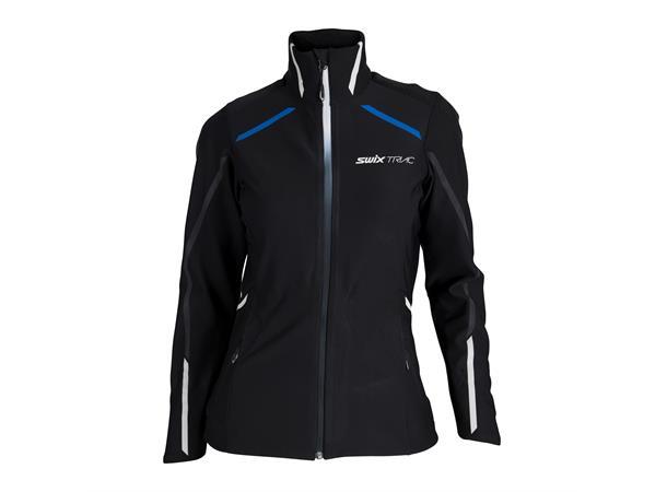 96f6fb9b Swix Triac Jacket skijakke dame M Langrennsjakke i Gore WS - Black - Foss  Sport AS