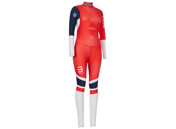 c076f2b7 Dæhlie Racesuit Champion dame S Racingdress - Norwegian Flag - Foss Sport AS