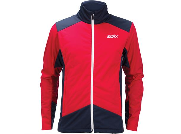 221ae568 Swix PowderX Jacket skijakke herre L Varm langrennsjakke - Swix red - Foss  Sport AS