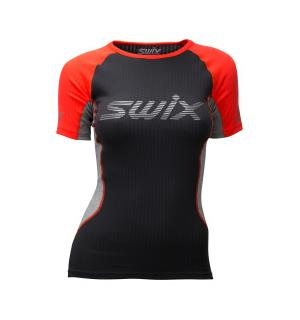 3dab01c9 Swix Radiant RaceX SS trøye dame Multisport supertrøye - Neon red
