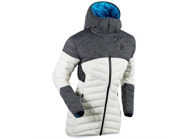 42d784f2 Dæhlie Jacket Raw Insulator 3.0 dame L Teknisk og lett dunjakke - Snow White  - Foss Sport AS