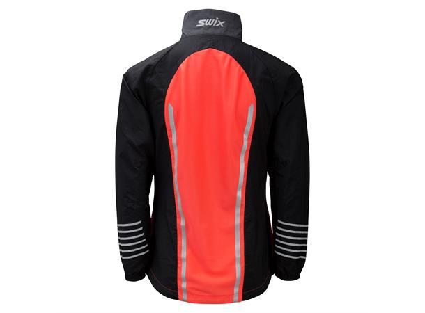 397d3de3 Swix Radiant jakke Junior 152 Jakke for løp og rulleski - Neon red ...