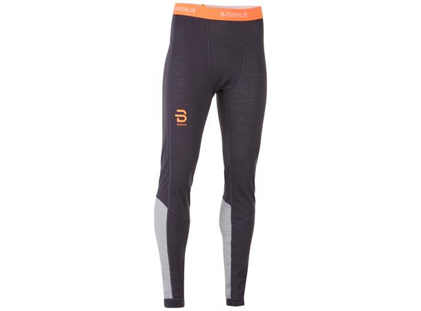 a7da6f88 Dæhlie Training Wool Pants herre S Tynn baselayer bukse i ull - Nine Iron -  Foss Sport AS