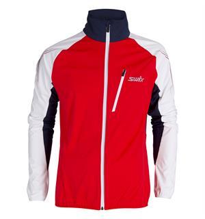 78d5a10c Swix Dynamic Jacket skijakke herre 3-lags softshell skijakke - Red