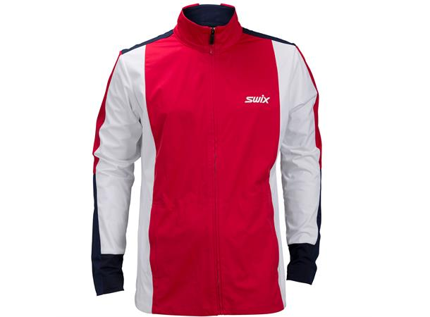 0952edd3 Swix Race Jacket skijakke herre L Vindtett softshell-jakke - Swix Red -  Foss Sport AS