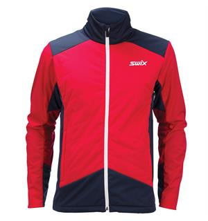 009b25d4 Swix PowderX Jacket skijakke herre Varm langrennsjakke - Swix red