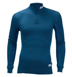 d0a263b7 Swix RaceX bodyw halfzip trøye herre Superundertrøye - Majolica blue