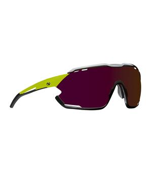 Northug Gold Pro Road Narrow Brille Sykkelbrille Road Sitrongul, smal modell