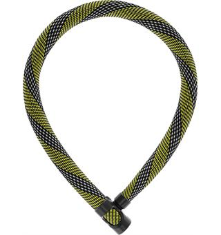 Abus IvyTex 7210  kjettinglås 110cm Kjetting sykkellås Racing yellow