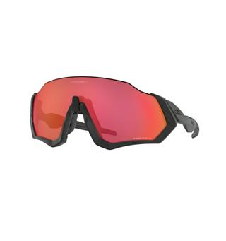 Oakley Flight Jacket Brille Matte Black  Prizm Trail Torch