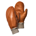 Northug Mosvik Leather Vott 6 Stilfulle og varme votter - Camel Brown