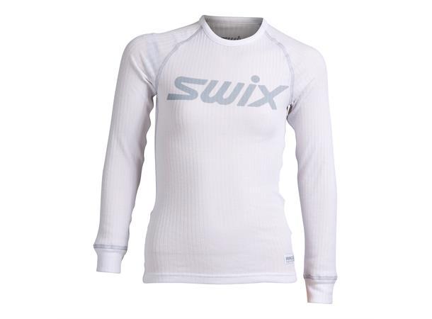 d9a15a06 Swix RaceX bodyw LS Junior trøye 152 Superundertrøye - Bright White/Cold  Grey - Foss Sport AS