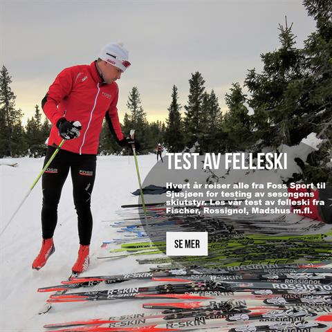 Test av felleski